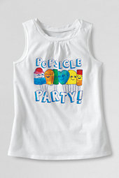 Girls' Popsicle Party Scented Twisted Graphic Vest Top