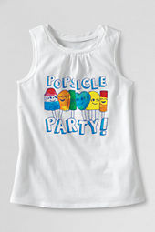 Girls' Scented Popsicle Party Graphic Twisted Tank Top