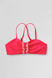 Girls' Cape May Cutie Eyelet Ruffle Bikini Top