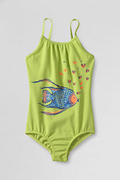 Girls' Hula Splash Graphic One Piece Swimsuit