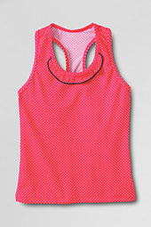 Girls' Cape May Cutie Ruffle Neck Tankini Top