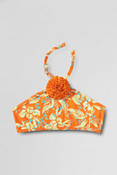 Girls' Hula Splash Flower Bikini Top