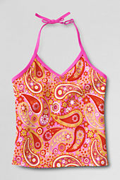 Girls' Sand Candy V-neck Tankini Top