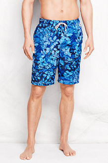 Men's Patterned 9˝ Swim Shorts