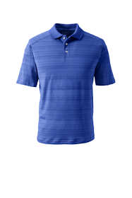 School Uniform Men's Short Sleeve Tonal Stripe Polo
