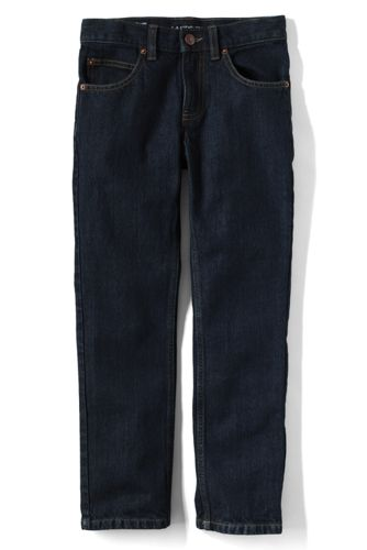 Little Boys' Slim Fit Iron Knee Jeans