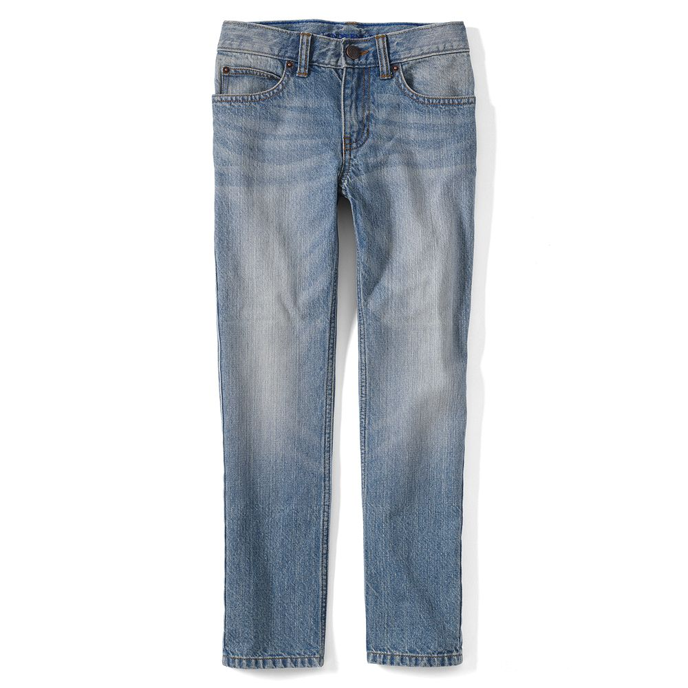 Lands' End Little Boys' Slim Fit Iron Knee Jeans at Sears.com