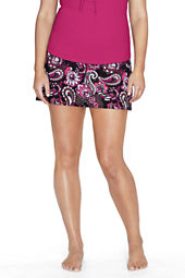 Women's Plus Size Beach Living Tahiti Paisley Ultra High Rise SwimMini