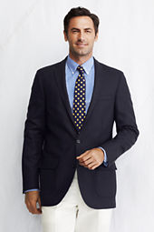Men's Tailored Fit Wool Traveler's Blazer
