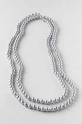 Women's Long Pearl Necklace