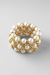Women's Pearl Stretch Bracelet