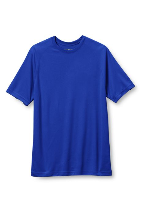 Men's Big Sport Tek Short Sleeve Dry Zone Raglan Tee