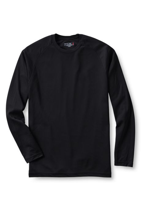 Men's Big Sport Tek Long Sleeve Dry Zone Raglan Tee