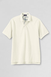 Men's Garment-dyed Piqué Polo