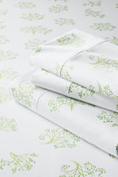 400-count Floral Sheet Set