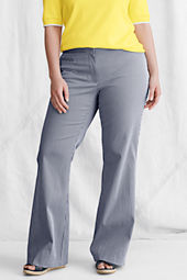 Women's Plus Size Coin Pocket Wide Leg Bedford Pants