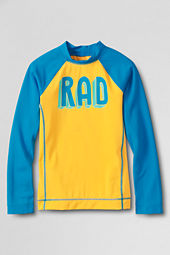 Boys' Long Sleeve Rad Graphic Rash Guard