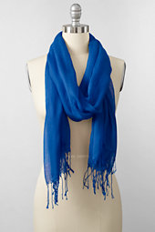 Women's Fringed Scarf