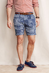 Men's Bandana Patchwork Shorts