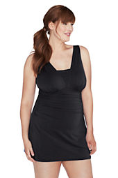 Women's Plus Size Slender Grecian Swimdress