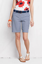 Women's Fit 2 Seersucker Bermuda Shorts