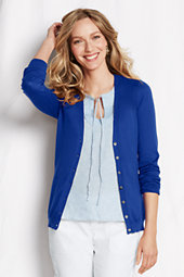 Women's Long Sleeve Summer Supima Cardigan