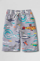 Boys' Print Swim Trunks
