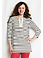 Women's Regular Striped Lace-up Tunic