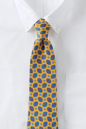 Men's Sandwashed Silk Eye Neat Necktie