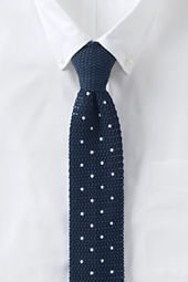 Men's Knit Churchill Dot Necktie