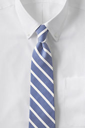 Men's Oxford Bar Stripe Necktie