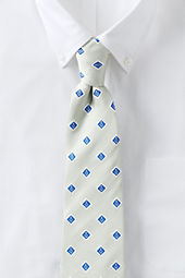 Men's Silk Anchor Medallion Necktie