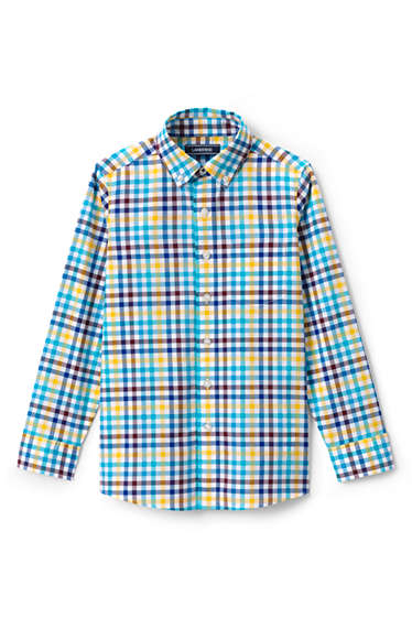 da2fbccc151f0 Boys Poplin Shirt from Lands  End