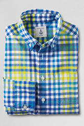Boys' Long Sleeve Poplin Shirt