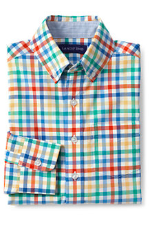 Boys' Poplin Long Sleeve Shirt