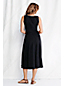 Women's Plus Plain Midi Length Jersey Keyhole Dress