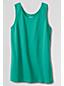 Le Débardeur en Coton Col U Uni, Femme Taille Standard