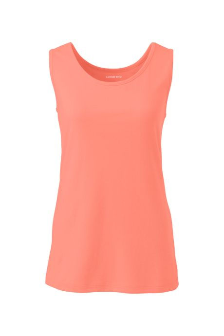 Women's Plus Size Cotton Tank Top