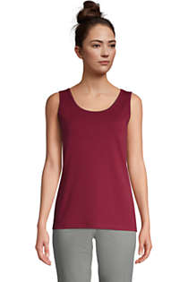Women's Tall Cotton Tank Top, Front