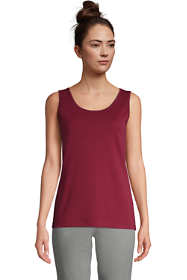 Women's Petite Cotton Tank Top