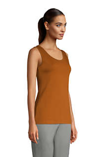 Women's Petite Cotton Tank Top, alternative image