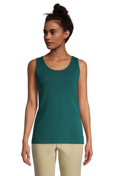Women's Petite Cotton Tank Top