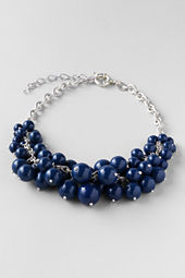 Women's Beaded Cluster Necklace