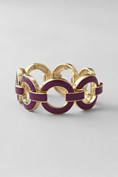 Women's Stretch Enamel Rings Bracelet