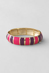 Women's Stretch Enamel Colorblock Bangle
