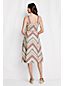 Women's Regular Striped Linen Dress