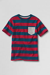 Boys' Short Sleeve Stripe Super Super-T