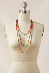 Women's Triple Strand Necklace