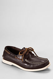 Men's Heritage Leather Boat Shoes