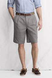 "Men's 11"" Pleat Front Original Chino Shorts"